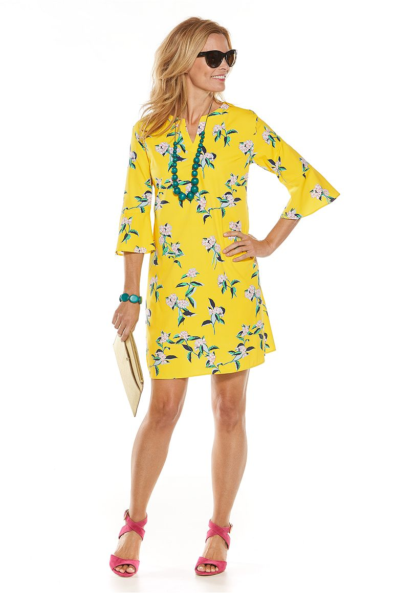 Garden Party Tunic Dress Outfit