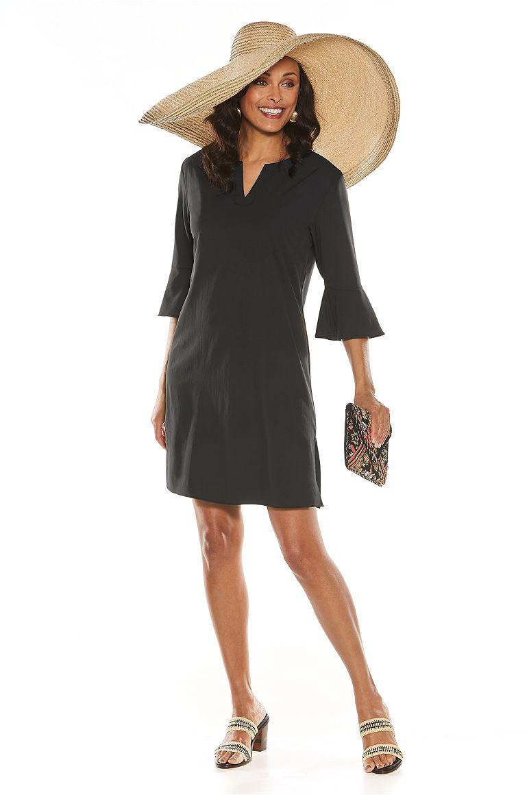 Fabulous Brim Hat & Garden Party Tunic Dress Outfit