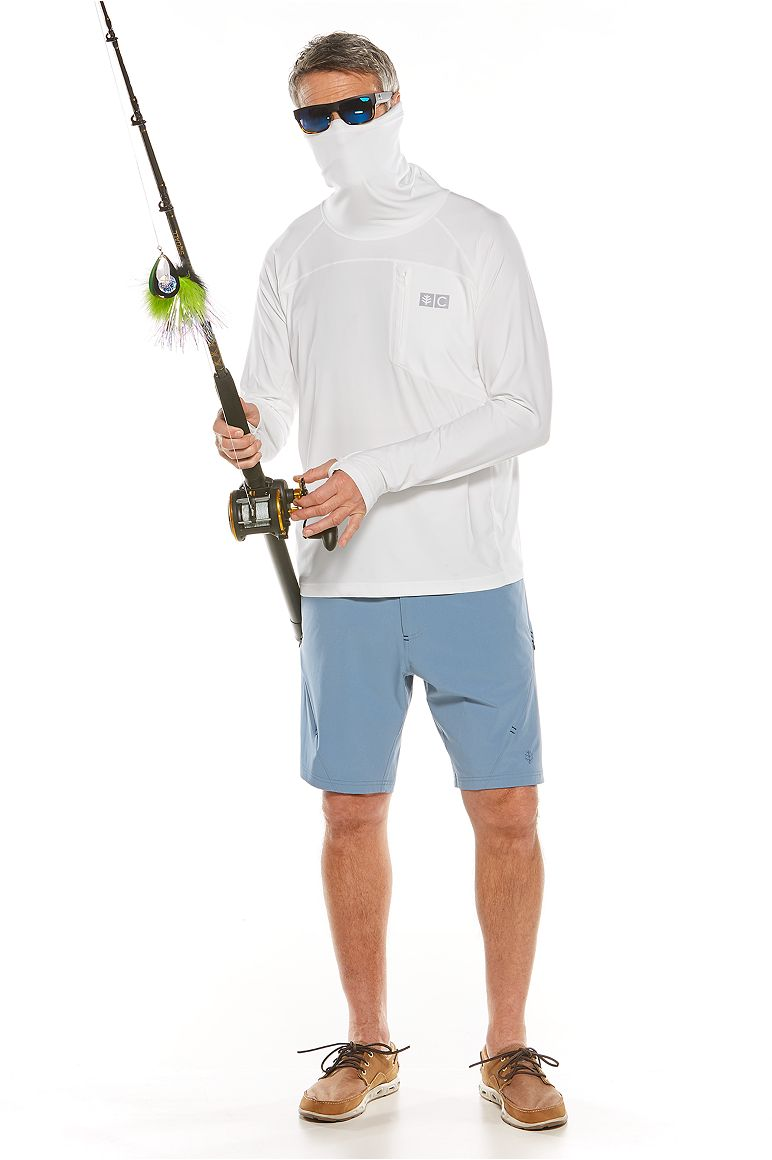 Andros Fishing Tee & Tech Swim Trunk Outfit