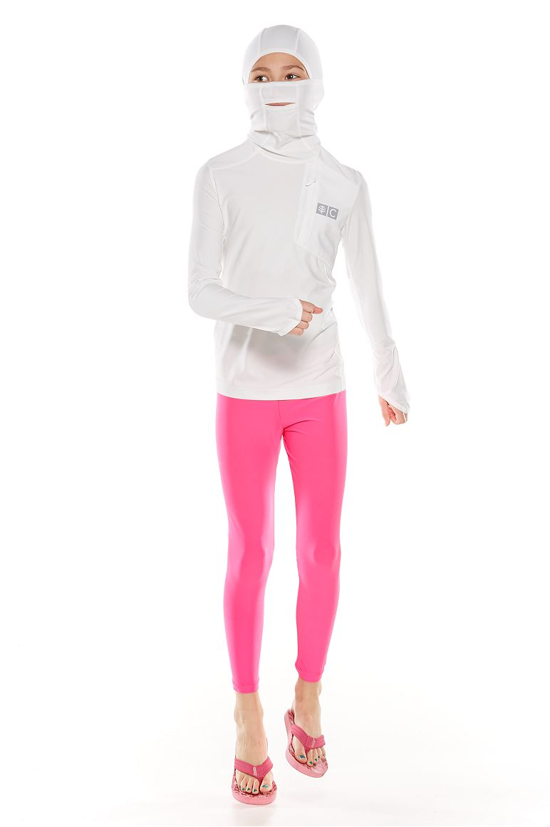 Kid's Fishing Hoodie and Swim Tights Outfit