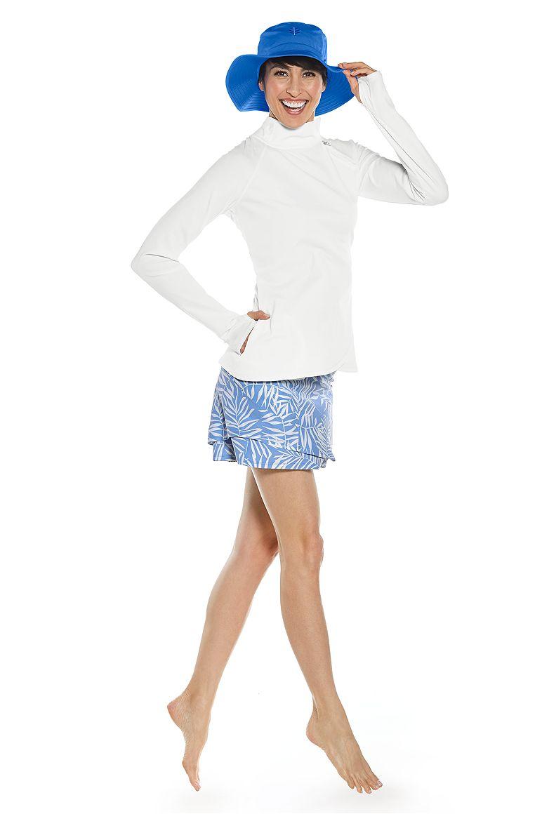 Surfside Rash Guard & Swim Skirt Outfit