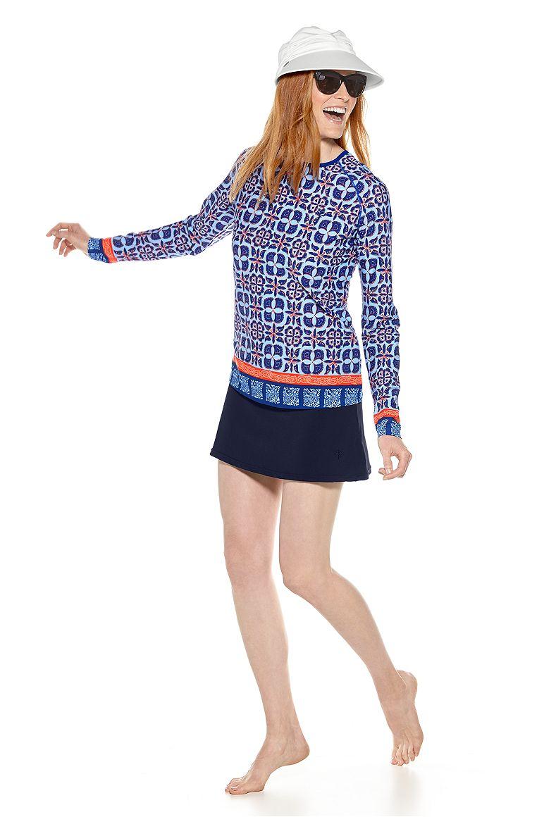 Scuba Shirt & Swim Skort Outfit
