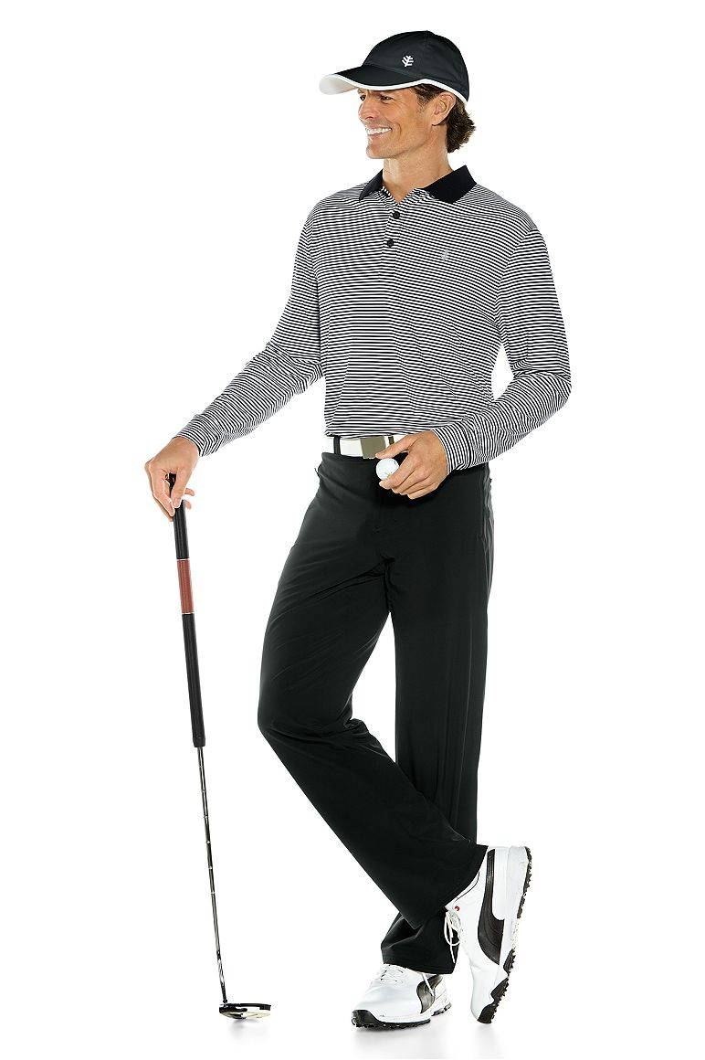 Long Sleeve St. Andrews Golf Polo & Hiking Pants