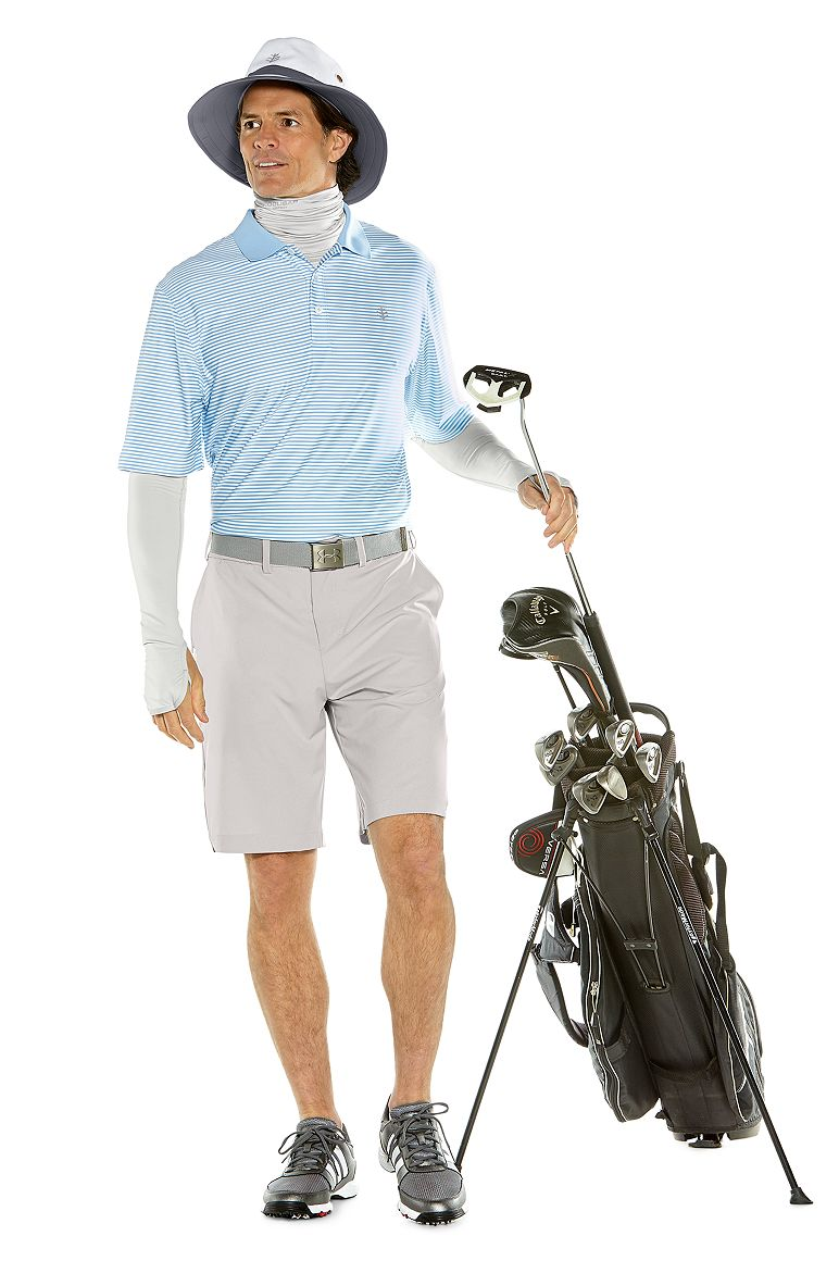 S/S St. Andrews Golf Polo & Trek Hybrid Short Outfit