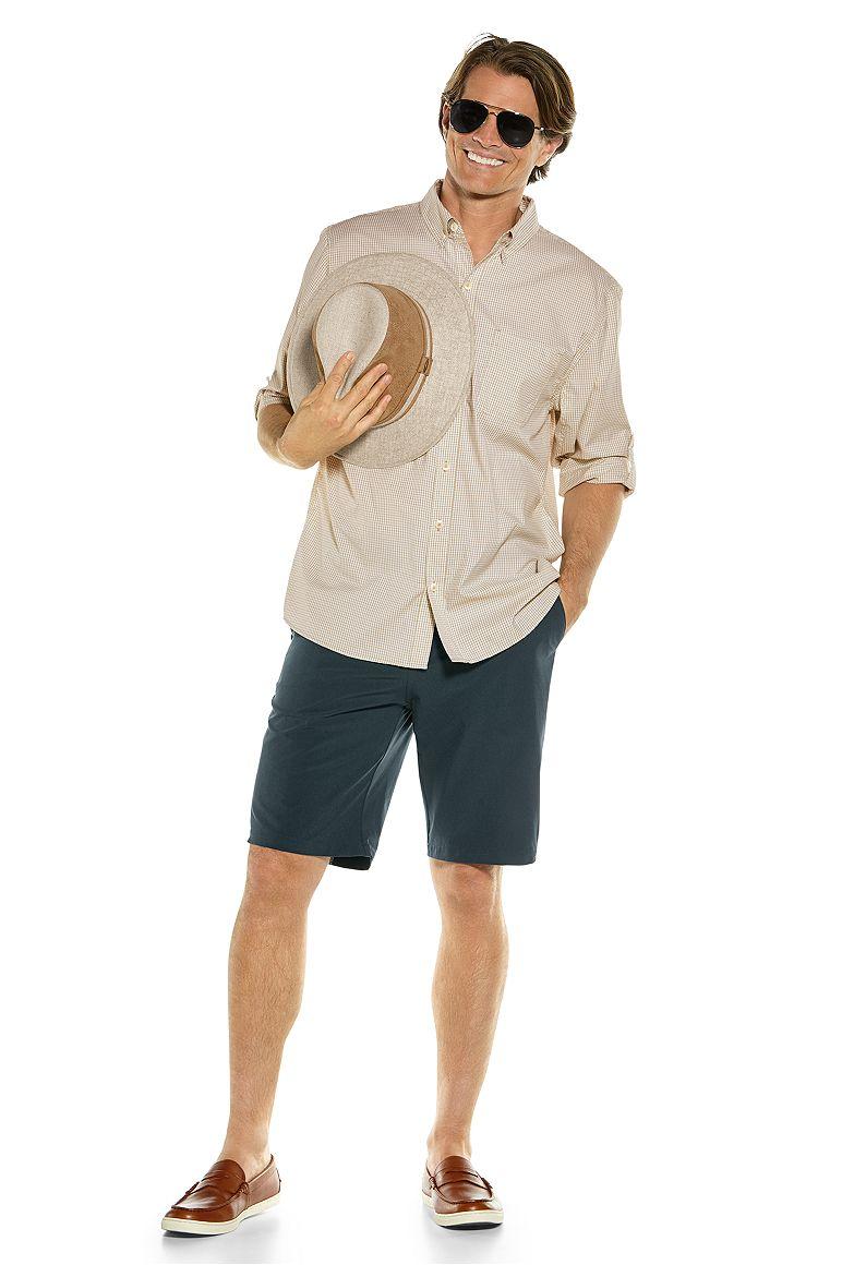 Sun Shirt & Trek Hybrid Shorts Outfit