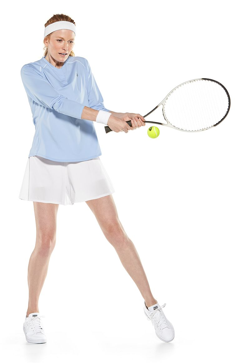 Match Point Henley & Grand Slam Tennis Shorts Outfit