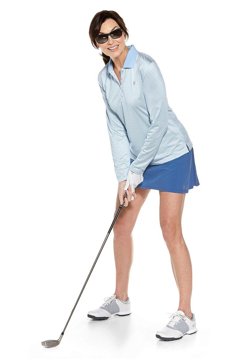 Prestwick L/S Golf Polo & Grand Slam Tennis Skort Outfit