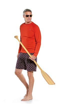 L/S Hightide Swim Shirt & Kahuna Swimming Shorts Outfit