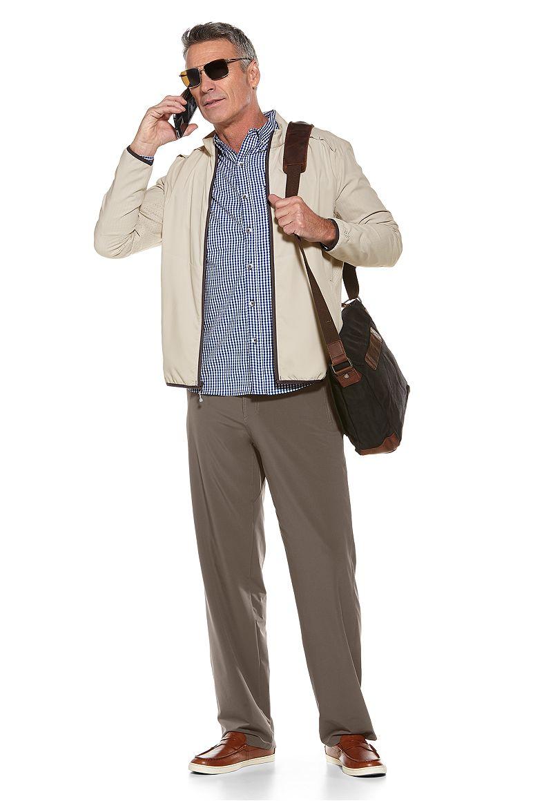 Packable Sunblock Jacket & Hiking Pants Outfit