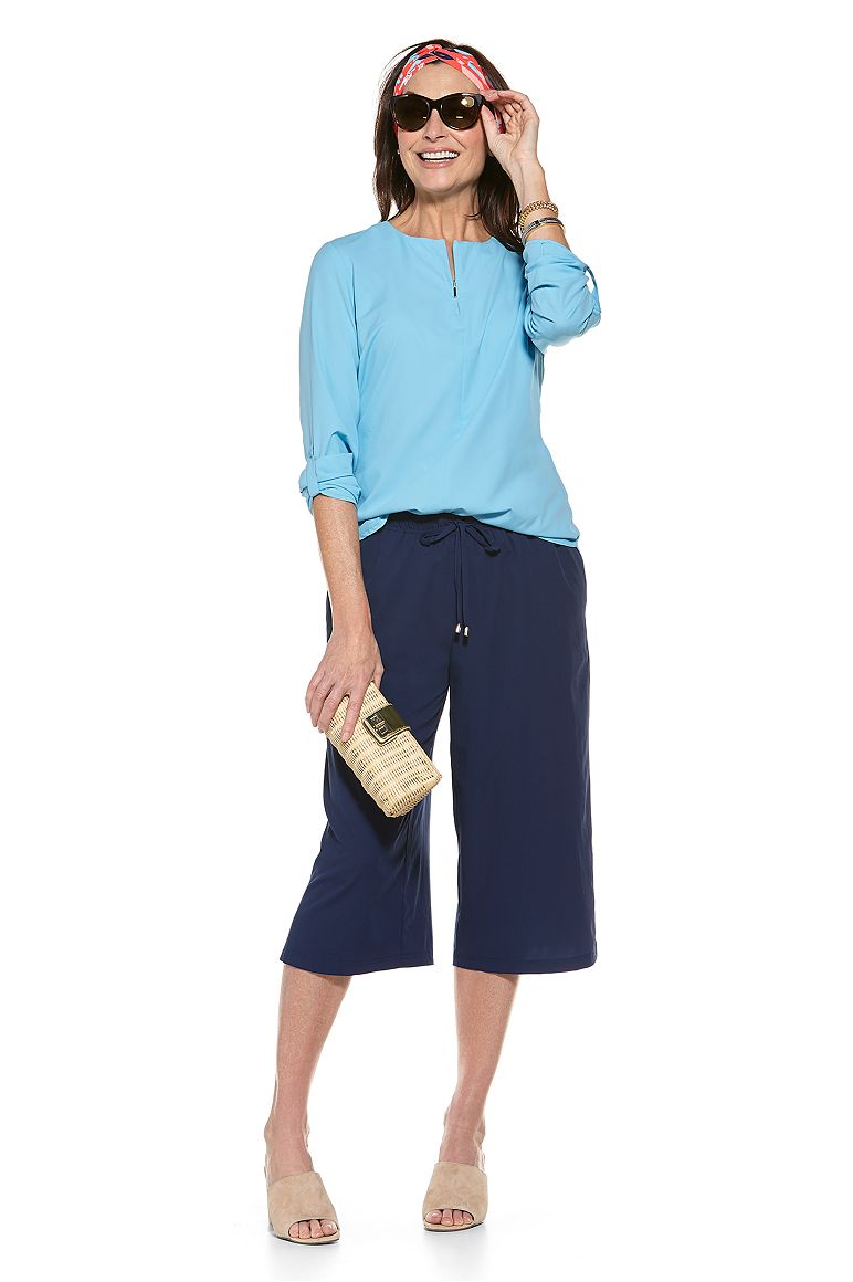 Chambord Tunic Top & Cortona Culotte Outfit