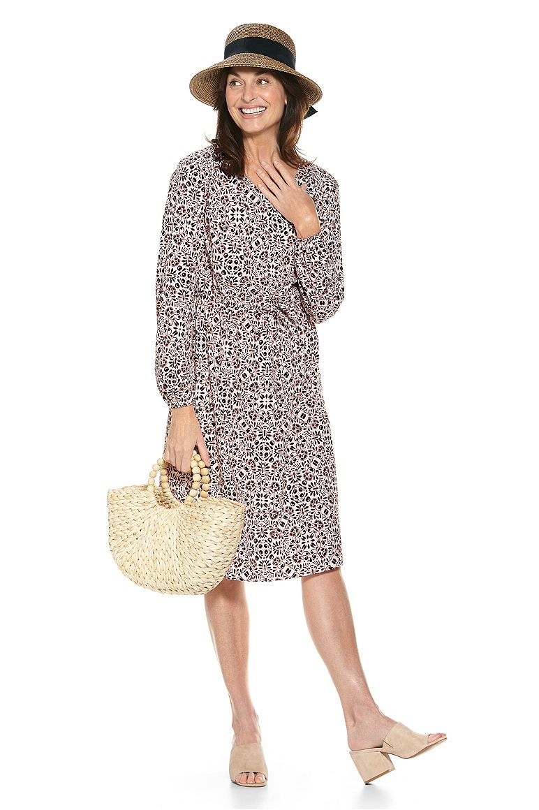 Clara Sun Hat & Borghese Dress Outfit