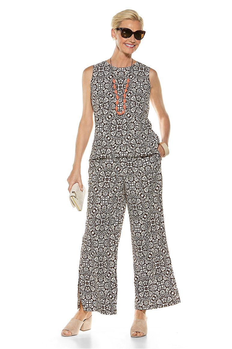 St. Tropez Swing Tank Top & Petra Wide Leg Pant Outfit