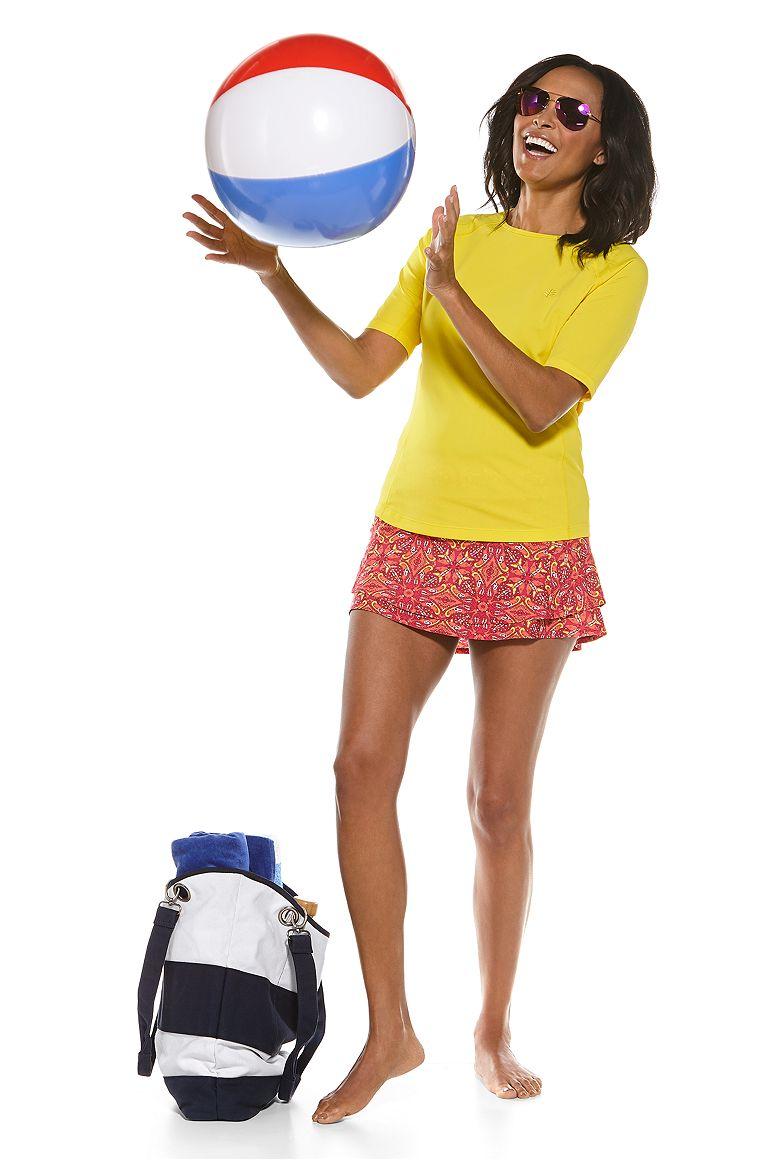 S/S Hightide Swim Shirt & Baycrest Swim Skirt Outfit