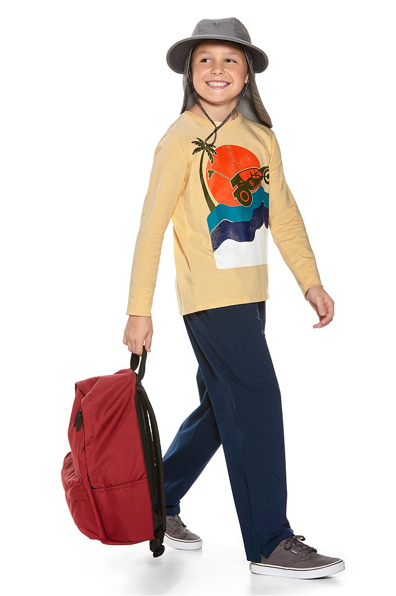 L/S Graphic T-Shirt & Saturday Lounge Pants Outfit