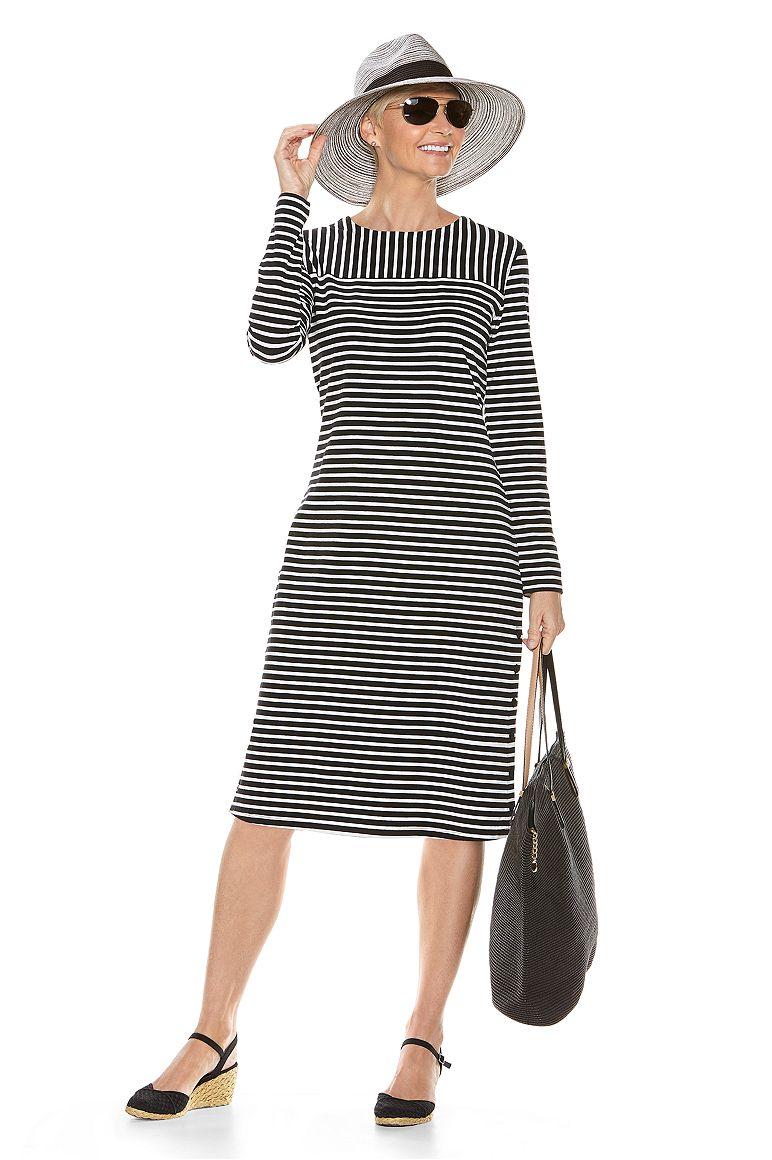 Sophia Fedora & Panorama Dress Outfit