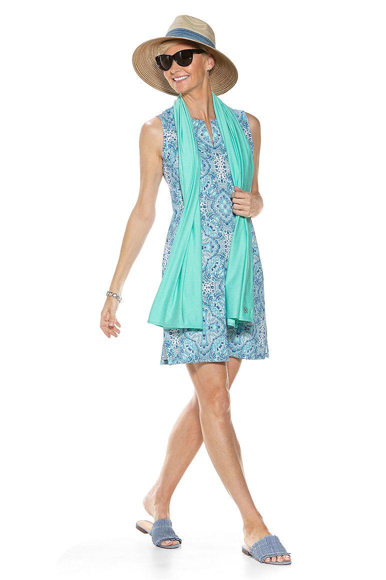 Oceanside Tank Dress & Sun Shawl Outfit