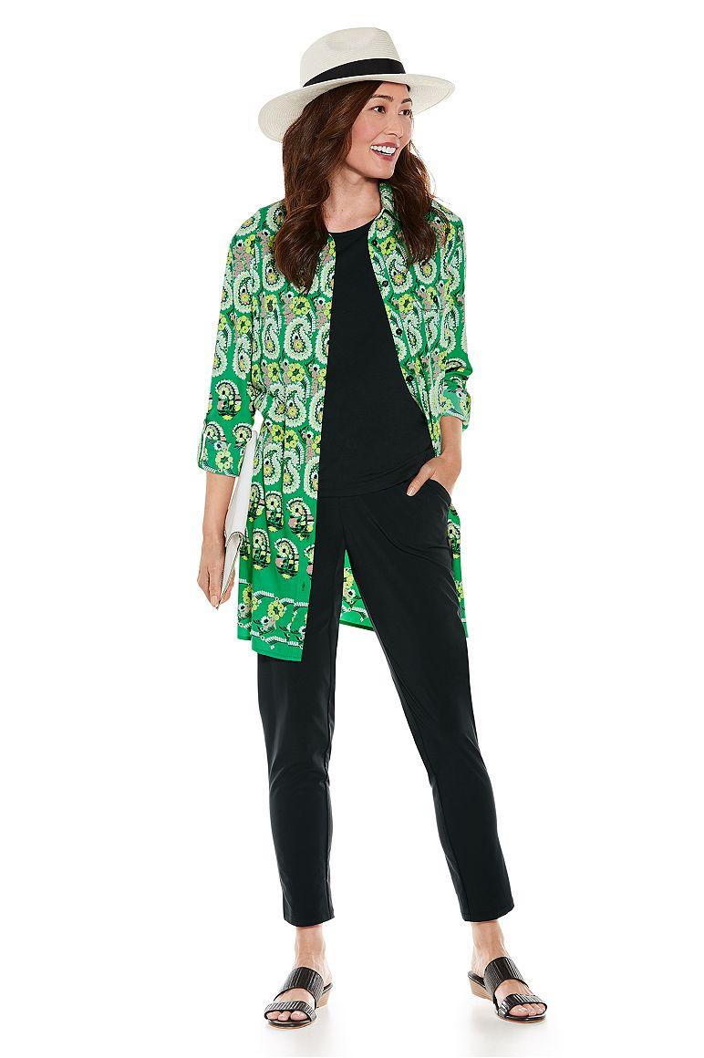 Santorini Tunic Shirt & Navona City Pants Outfit