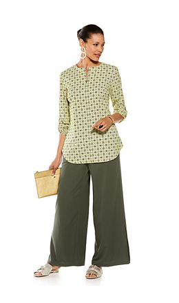 Chambord Tunic Top & Petra Wide Leg Pants Outfit