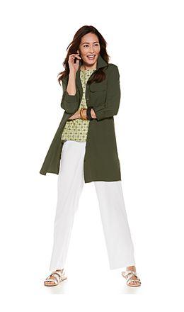 Santorini Tunic Shirt & Verona Straight Leg Pant Outfit