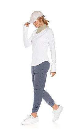 LumaLeo Long Sleeve Tee & Café Ruche Pants Outfit