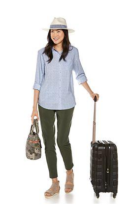 Aricia Sun Shirt & Navona City Pants Outfit
