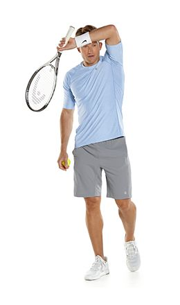 Agility S/S Performance Tee & Outpace Sport Shorts Outfit