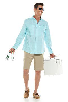 Baraco Fishing Shirt & Trek Hybrid Shorts Outfit