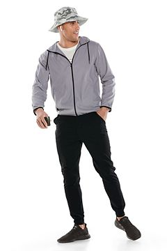 Hullen Hooded Jacket & LumaLeo Jogger Pants Outfit