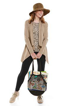 Marietas Sun Wrap & Monterey Summer Leggings Outfit