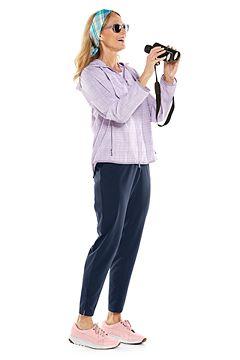 Arcadian Packable Sunblock Jacket & Navona City Pants Outfit