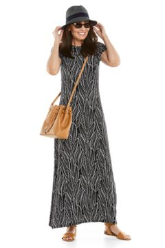 Dounelle Maxi Dress & Lucca Fedora Outfit in Look we love shot