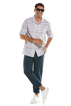 Safari Camp Shirt & Avalos Travel Pants Outfit