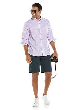 Aricia Sun Shirt & Trek Hybrid Shorts Outfit
